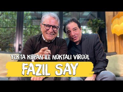 Fazıl Say - Yekta Kopan Ile Noktalı Virgül (Genç Türk Bestecileri Festivali)