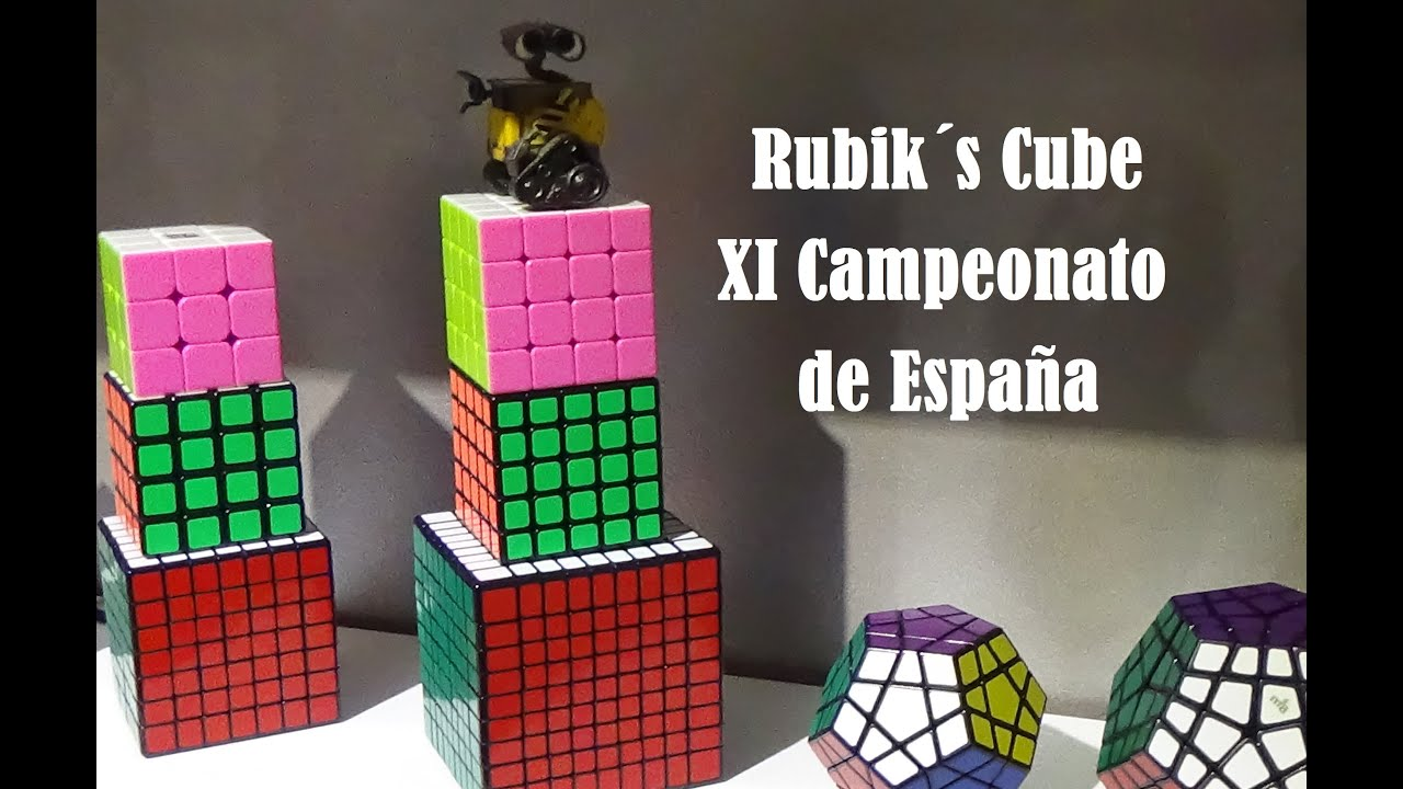 Rubik s cube xi campeonato de espa a epic vlog youtube for Rubik espana