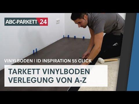 Tarkett Vinyl iD Inspiration 55 Click richtig verlegen