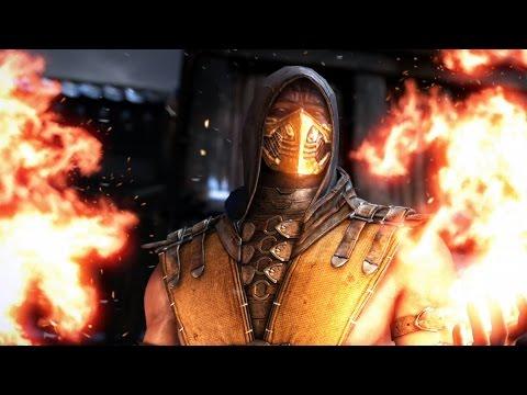 Mortal Kombat X - Scorpion Klassic Ladder Walkthrough and Ending