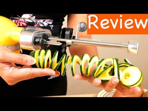 KitchenAid KSM1APC Spiralizer Attachment Review