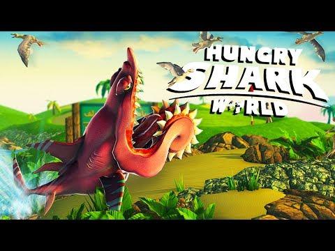 BULL SHARK ATTACK! - Hungry Shark World PS4 Gameplay