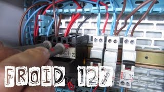 Froid127-Dépannage électrique-Problème sur le neutre-tension ératique