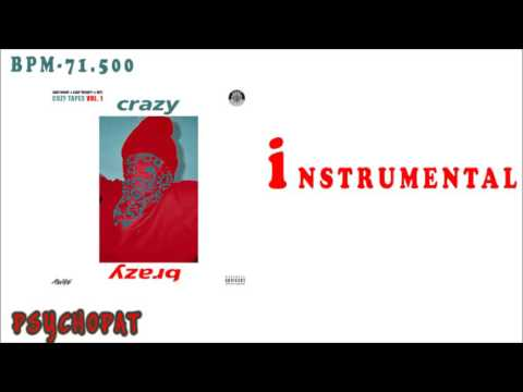ASAP Mob - Crazy Brazy ft. ASAP Rocky, Key & ASAP Twelvyy [Instrumental]| Reprod. Psychopat beats