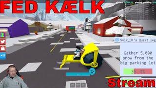Skovler sne og enfriador - Snow Shoveling Sim Roblox - STREAM