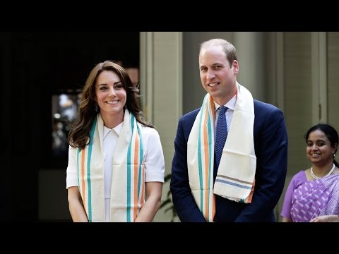 Royal couple begin tour of India, paying respects in Mumbai