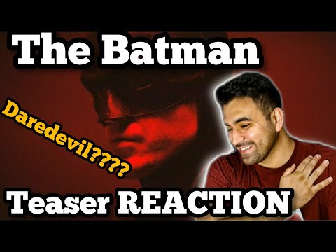 THE BATMAN Teaser Trailer 2021 Trailer REACTION!!!