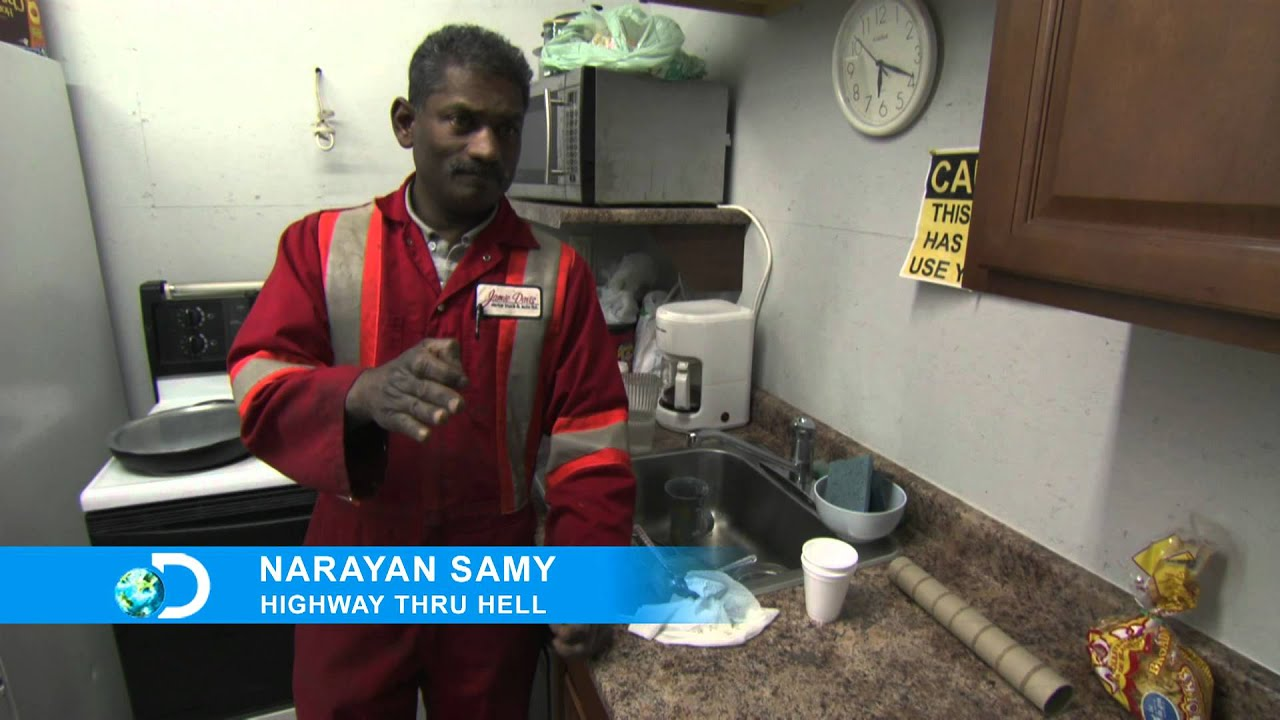 "Highway Thru Hell: ""Cast Interviews"" - Narayan - YouTube"
