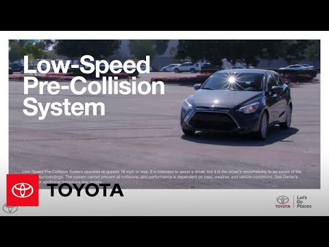 How-To: Yaris iA Low-Speed Pre-Collision System Settings and