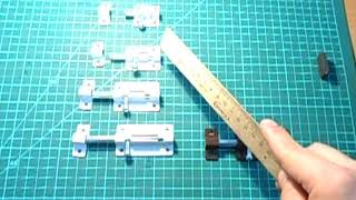 видео Замочно-скобяные изделия