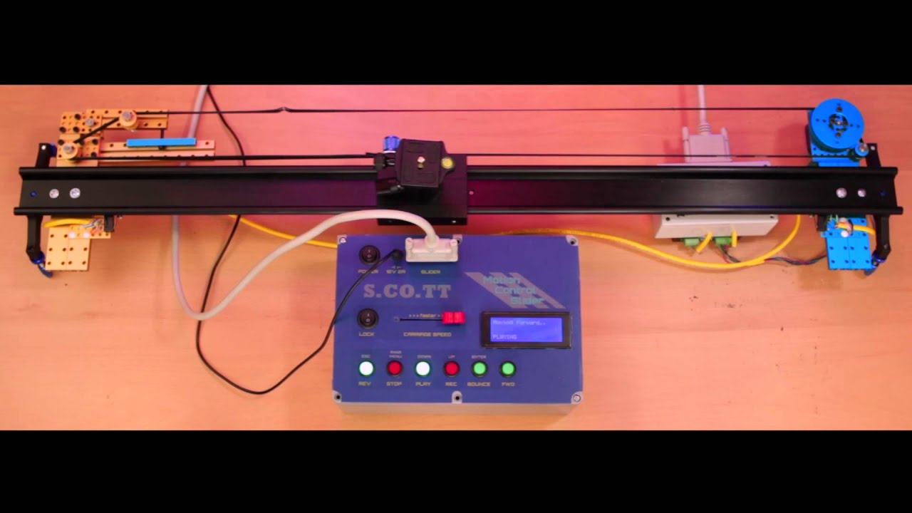 Ss diy motion control camera slider introduction and demo ss diy motion control camera slider introduction and demo arduino project youtube solutioingenieria Image collections