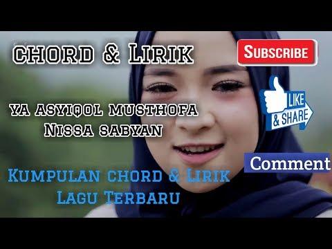 Chord & Lirik Ya Asyiqol Musthofa Nissa Sabyan