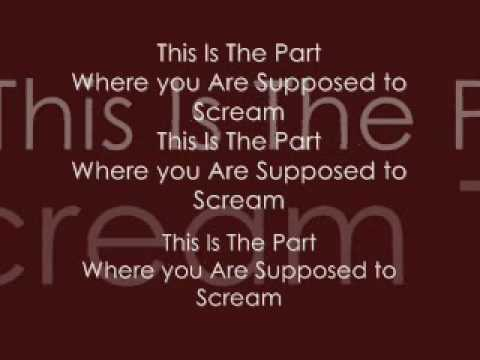 Alesana-This Is Usually The Part where People Scream (Lyrics)
