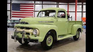 1951 Ford F2 Green