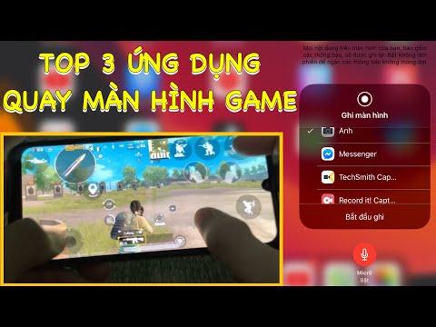 3 Ứng Dụng Quay Video Màn Hình Game Free Fire / PUBG Mobile Tốt Nhất . Cách Sử Dụng