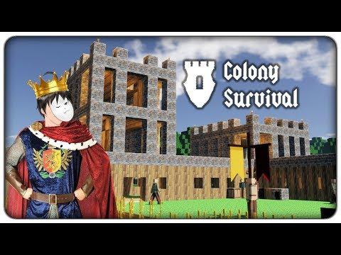 COSTRUIAMOCI UN REGNO A CUBETTI   Colony Survival - ep. 01 [ITA]