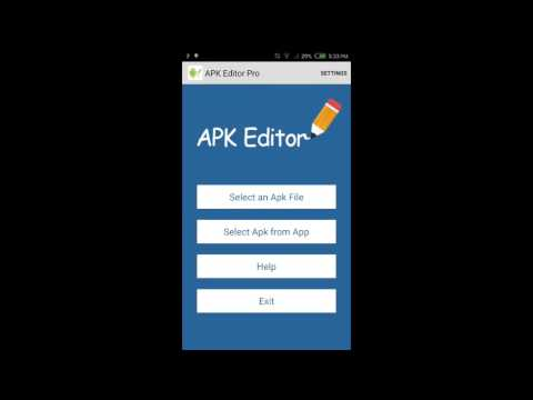 [Android] 2 methods to edit package name in APK Editor Pro
