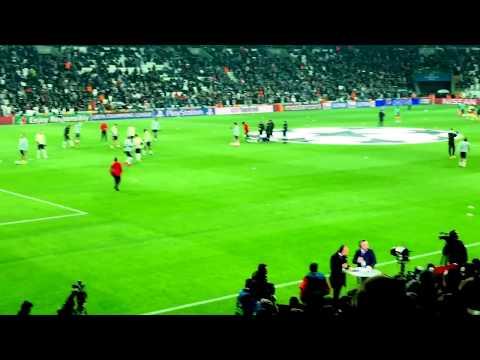 Ateşini Yolla Bana - Beşiktaş Porto Şampiyonlar Ligi- 40 bin kişilik müthiş koro