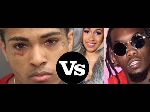 XXXTentacion TAKING CARDI B From Offset (Migos)? He Claims This is His Goal in Life to Win Cardi B.
