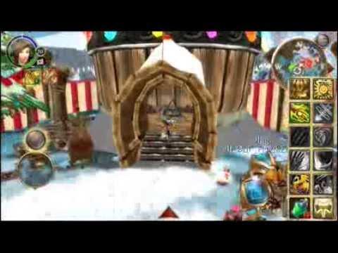Order & Chaos Online Crismas Amusement Park Part 1
