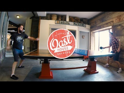 Ping Pong & Craft Beer •• Oast House Brewery