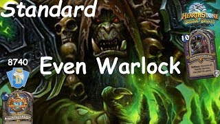 Hearthstone: Even Warlock Post-Nerf #13: Witchwood (Bosque das Bruxas) - Standard Constructed
