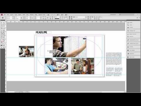 Basic Design Principles for Creating a Simple Yearbook Layout