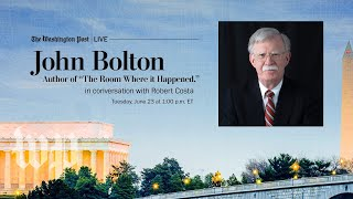 John Bolton joins The Post to discuss his new book and President Trump (Full Stream 6/23)