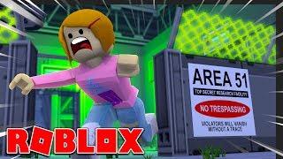 Roblox - France Escape Area 51 Obby Avec Molly!