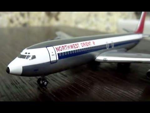 Unboxing Gemini Jets Northwest Orient Boeing 707-320 | 1:400 Scale Model