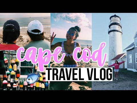 CAPE COD TRAVEL VLOG!