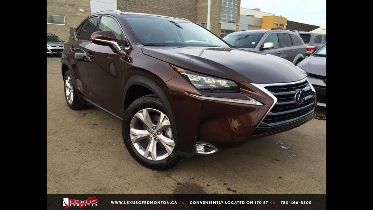 2016 Lexus Nx 300h Hybrid Review