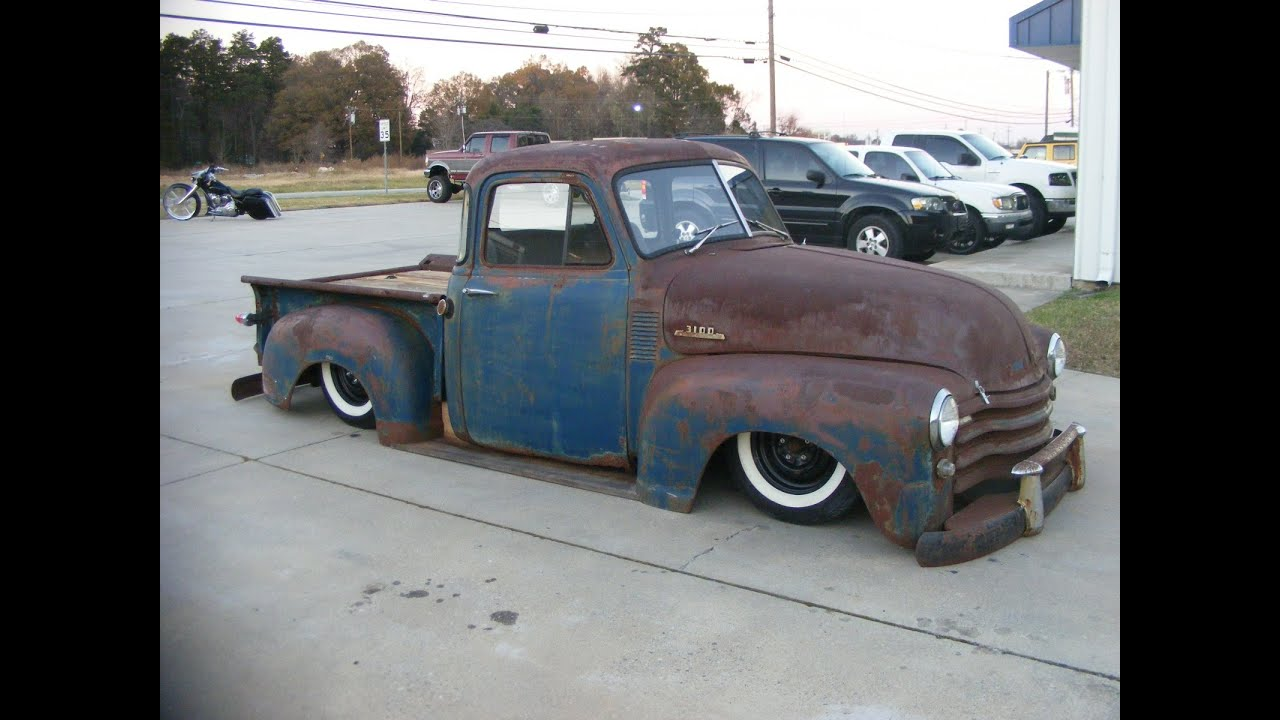1949 Chevy Rat rod pick up truck chevrolet hotrod custom ...