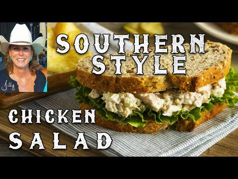 Easy To Make Southern Style Chicken Salad Recipe