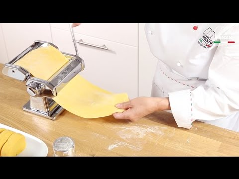 Homemade fresh pasta with Marcato Atlas 150 Classic – Video tutorial