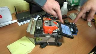 Сварка оптоволокна(, 2013-11-24T00:21:10.000Z)