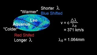 Astronomy: The Big Bang (7 of 30) Cosmic Background Radiation and Earth's Motion