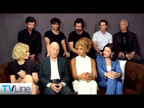'Star Trek: Picard' Cast on the Return of Patrick Stewart's Iconic Captain   Comic-Con 2019   TVLine