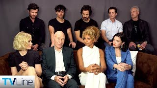 'Star Trek: Picard' Cast on the Return of Patrick Stewart's Iconic Captain | Comic-Con 2019 | TVLine