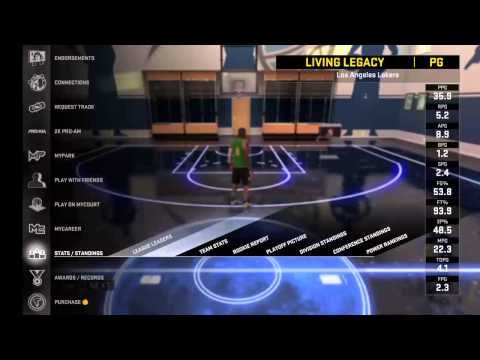 NBA 2K16 My Career Live Broadcast