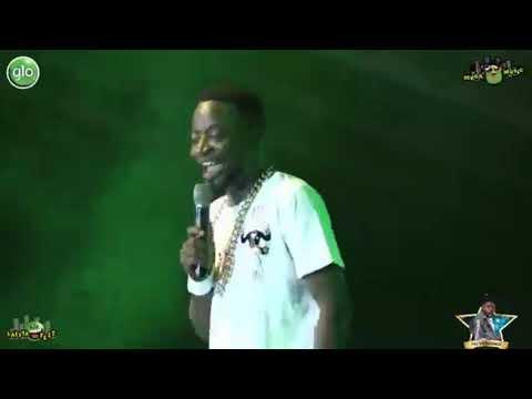 Foster Romanus Makes Fun of Shatta Wale, Stonebwoy, Samini and Sarkodie at Glo Mega Music Fest