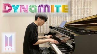 【ピアノ】『 Dynamite / BTS (방탄소년단) 』弾いてみた (piano cover)