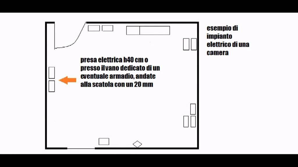 Impianto Elettrico Camera Matrimoniale.Impianto Elettrico Fai Da Te Youtube