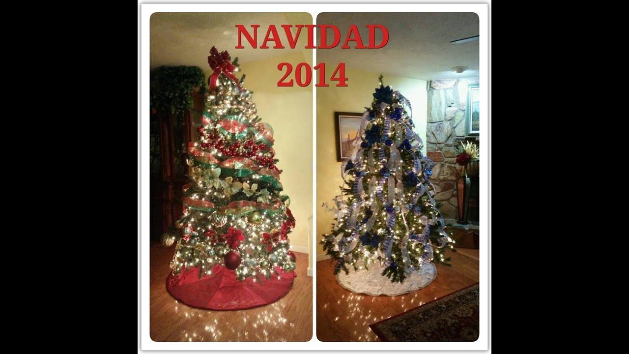 Decoracion de arbol de navidad con cintas 2 youtube - Arboles navidad decoracion ...