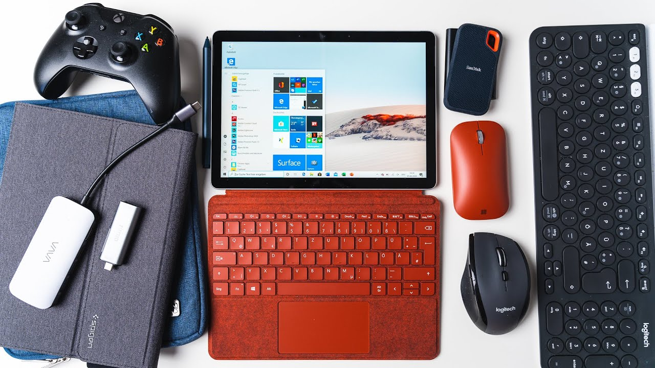 Best Microsoft Surface Go 2 Accessories: Cases, USB C Hubs, Keyboards