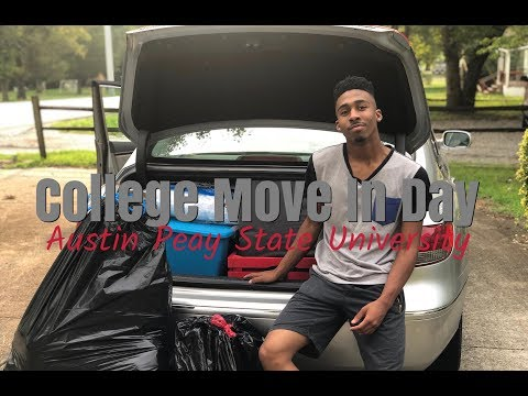 College Move In Day| Austin Peay State University