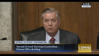 Repeat youtube video Lindsey Graham and Gen. Mattis