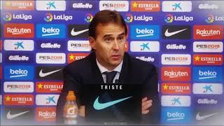 ADIÓS Julen Lopetegui: Así fue el último partido del entrenador del Real Madrid en el clásico 2018