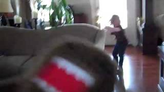 Domo Attacks!  A silly movie made by Daddy and his two Daughters
