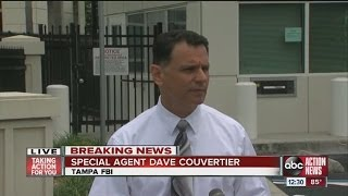 FBI news conference on